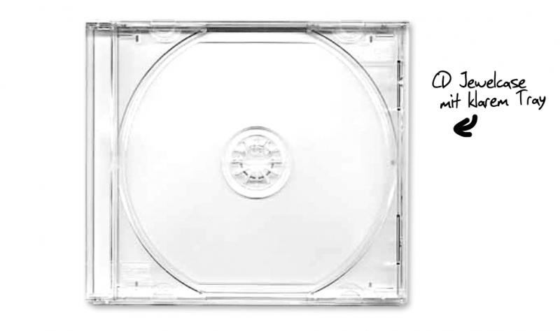 CD Jewelcase - gewöhnlich und doch edel