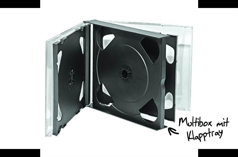 cd multibox verpackung f r 3 und mehr discs. Black Bedroom Furniture Sets. Home Design Ideas